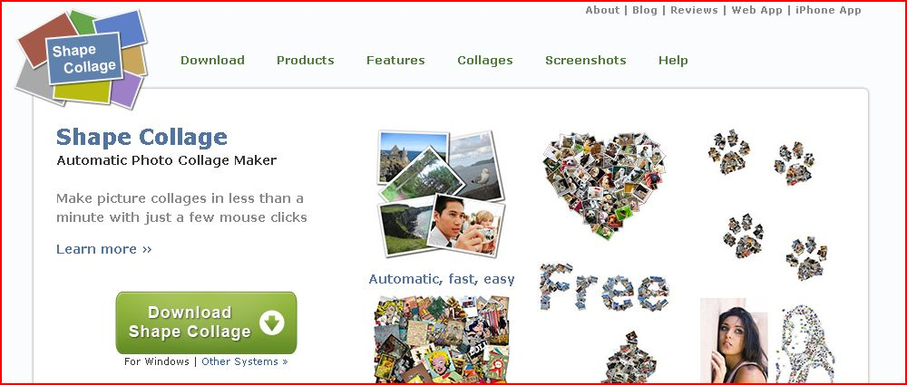 Siti per fare collage di foto gratis online for Collage foto online gratis italiano