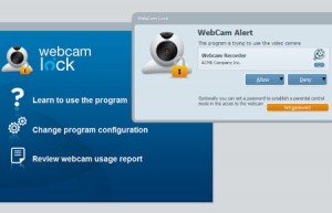 webcam lock