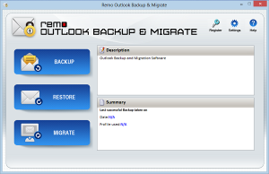 backup outlook