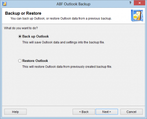 backup outlook gratis online