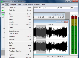 come modificare file audio