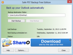 programmi gratis backup outlook