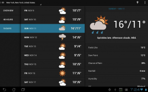 meteo android