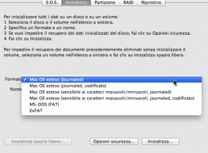 come formattare un mac
