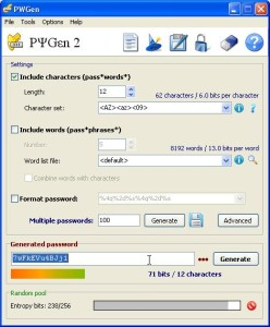 generatore di password gratis