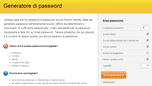 generatore di password online