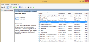 spooler di stampa windows