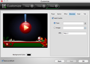 inserire watermark video mac