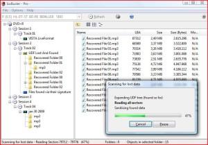 recuperare dati da cd