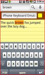 tastiera iphone per android