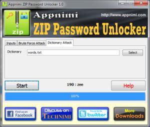 password zip