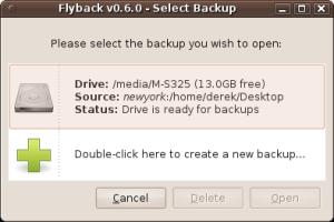 programmi backup per linux
