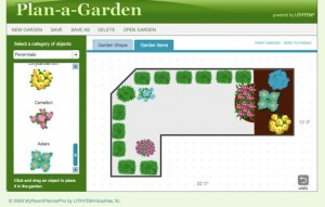 disegnare giardino