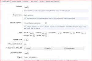 gestire newsletter con wordpress
