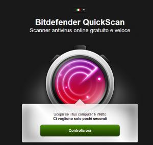 antivirus online in italiano