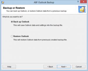 backup outlook gratis online