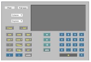 calcolatrice online
