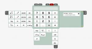 calculator tab