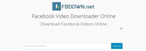 download video da facebook