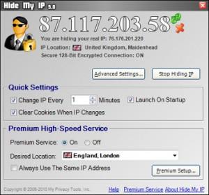 nascondere indirizzo ip gratis