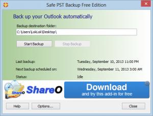 programmi gratis backup outlook