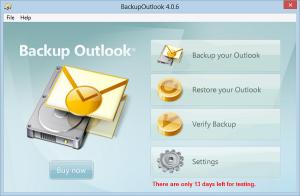 programmi per fare il backup di outlook