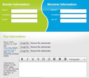come inviare fax online