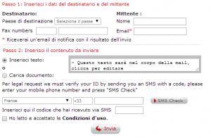 inviare fax