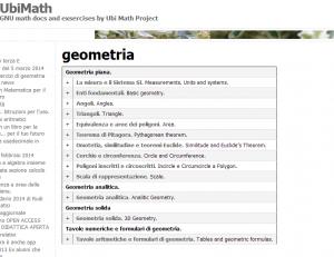 problemi di geometria online