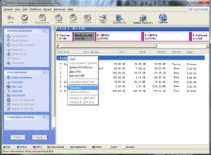 programmi per partizionare hard disk