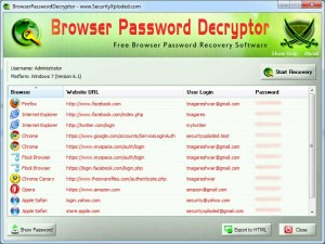 programmi per recuperare password