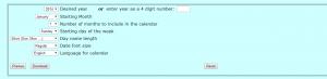 siti per creare calendari online