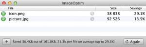comprimere immagini per mac