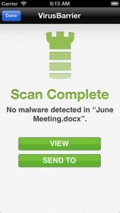 antivirus gratis per ipad