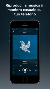 ascoltare musica con android
