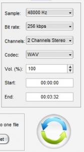 convertire audio