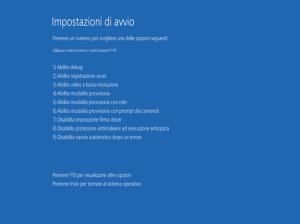 modalita provvisoria windows 8.1