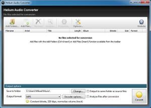 programmi per convertire file audio