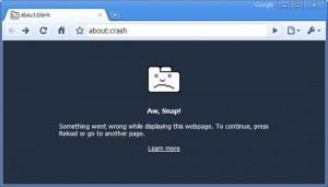 chrome ha smesso di funzionare online