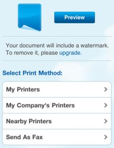 come stampare da ipad