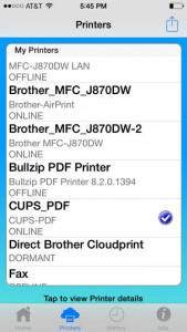come stampare da iphone