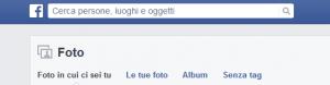 privacy e foto facebook