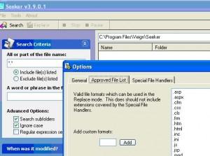 sostituire testo nei file