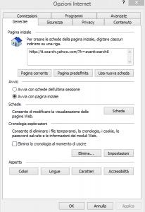 svuotare cache internet explorer