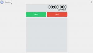 cronometrare android