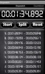 cronometro android gratis online