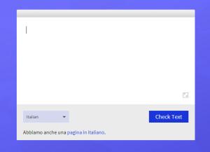 correttore ortografico gratis italiano