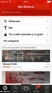applicazioni ristoranti per iphone