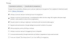 blocco popup google chrome