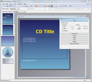 programmi per copertine cd